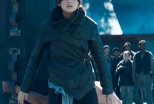 The Hunger Games Catching Fire Katniss Black Jacket / Buy Jennifer Lawrence (Katniss) Hunger Games Catching Fire Black Leather Jacket from the online store famousjackets.com and avail free shipment on every order over 200$.