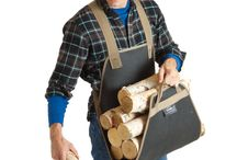firewood carrier and storage
