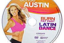 Dance Excercise dvd's