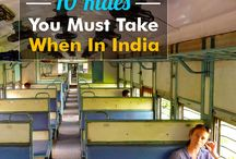 10 Rides you must take when in India / From Bullock carts to Metros...there are several modes of transport available in India. We have compiled pictures of  few rides you must try when you are taking India tour. Take a look!