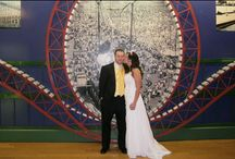 Weddings on The Coaster / Thinking about taking the plunge? Why not do it at 67 mph...Have your wedding ceremony at the most exhilarating venue. http://nyny.lv/BigAppleCoaster