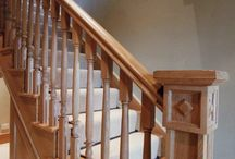 Oak staircases / Oak staircases, Venables oak design and make custom made staircases for any style of dwelling, and for interior or exterior use.