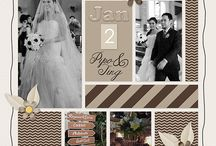Wedding scrapbooking / by Mary Olayer