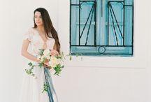 Santorini Marianna Kastrinos Romantic wedding dress
