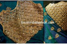 blouse work and design