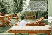 ¡¡SABE A VERANO!! / Muebles de jardín y exteriores