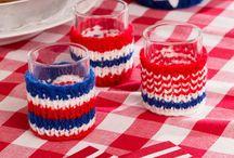 adornos a crochet para vasos