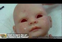malování panenky