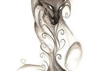 лисий хвост