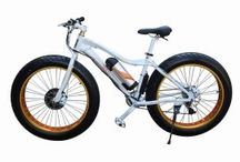 Fat Ebike / Anzio F19-Daytona  Electric fat tire 350W high speed brushless motor ,36V 10ah lithium battery,21speed,all aluminum frame and wheel ,you could ride like regular fat bike , peddle assistance or thumb throttle.great  all train (snow,sand hill, dirt mountain road)