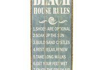 Beach Decor / Fun decor for beach houses