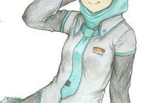 Muslim style anime
