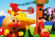 アンパンマン それいけ! コロロンパーク のぼってジャンプだ! アスレチック おもちゃ アニメきっず animation Anpanman Toy
