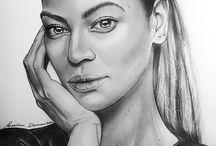 Portrait / Portrait and Digital painting.