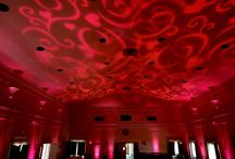 Sweet 16 / Sweet 16 party lighting by Hourglass Lighting