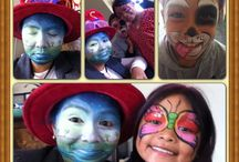 Facepainting and body art