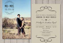 Wedding invites / by Ashley Ressler