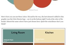 Paint colours for different rooms