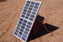 Solar panel - electricity