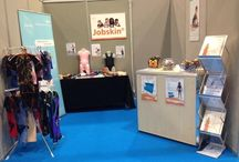 Jobskin Exhibition 2015/16 / Jobskin attenda range of Conferences and Exhibitions through the year showing our fantastic range of products while having interaction with our customers and new customers