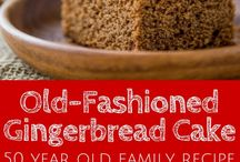 Gingerbread / Gingerbread flavored recipes.