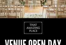 Wedding Open Days / Our open days at That Amazing Place