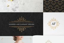 Logo Design Inspiration : Elegant / Elegant and classic corporate design