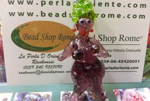 Glass Rome Italy / Bead Shop Italy - Artistic Handmade Beads Store in Rome