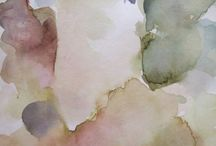 made in greece / #katerina_kokkinaki #landscape_pantinng #watercolor