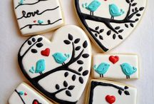 Cookies! / Desperately want to learn how to make these works of art! / by Kelly McDaniel