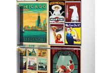 Fridge Sticker Ideas