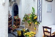 shopfronts · street scenes / street scenes · shops · shopfronts · boutiques · warehouses · restaurants · bistros, brasseries · pizzerias (see also 'coffee · cafés' board)