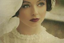 Vintage make up photo shooting