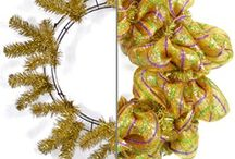 Deco mesh / Wreaths