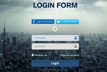 Login Pages UI