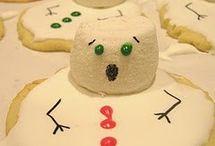 Christmas baking/making/balls/snowmen