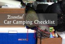 Car Camping Ideas / Car Camping