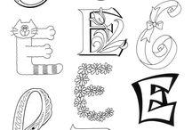 letras o abecedarios