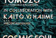 Art DVD Release決定!Tomozo aka Tomoko Kevorkian× Kaito aka Hiroshi Watanabe ×VJ HAJIMEコラボ アートDVD / ついに発売決定しました!購入まで残り数日!由緒あるパーティの贅を極めたアーティストTomozo aka Tomokoa Kevorkian , Hiroshi Watanabe達によるコラボレーションDVDで新たなステージが展開される。限られた逸品 !  -楽曲の権利問題で世に出る事はなかったTomozo aka Tomoko Kevorkian のアートワークDVDをアップデートし、制作再始動費用の一部を募る為のプロジェクト-  http://trunkmarket.jp/project/s/project_id/20  からお願いします。