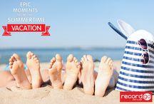 Epic Moments from the Summertime Vacation / Grandes momentos de las vacaciones de verano