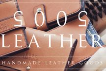 5005 Leather / Handmade Leather Goods / www.5005leather.com