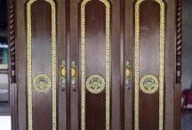 Almari Rahwana Tiga Pintu