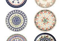 4:Boleslawiec/ polish pottery
