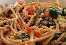 Hubbies favorites ....pasta / by Cathy Sucan
