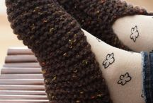 Knitting/Crochet Adult Bootie