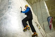 Ice Climbing / www.snowfactor.com/icewall/ With over 40 ropes our indoor ice climbing wall is the world's biggest urban ice climbing facility. (The overall biggest indoor wall remains at our sister site in Ice Factor (www.ice-factor.co.uk) Kinlochleven.