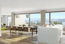 Visualisierung Küche - STOMEO Visualisierungen, Zürich / Professionelle Visualisierungen für Architekten und Immobilien in Zürich seit 1999 | © STOMEO Visualisierungen - Zürich3D-Modelle, Rendering, 3D-Grundrisse