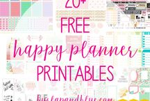Planner Addict / Love planners? Then this is the board for you!  Erin Condren, Happy Planner, Spiral Bound Planners, printable planner stickers, planner stickers