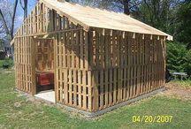 Construction palettes / Bricolage jardin mobilier ...