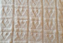 Mine hjemme strikkede prosjekter❤